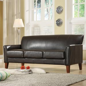 Walker Dark Brown Sofa